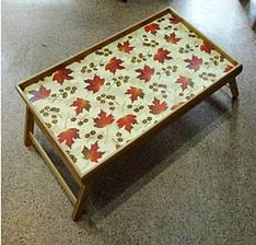Бамбуковый раскладной столик 4вида 059-2