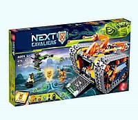 Конструктор Lepin 14042 Nexo Knight Нексо Найтс Мобильный арсенал Акселя 676 деталей, фото 1