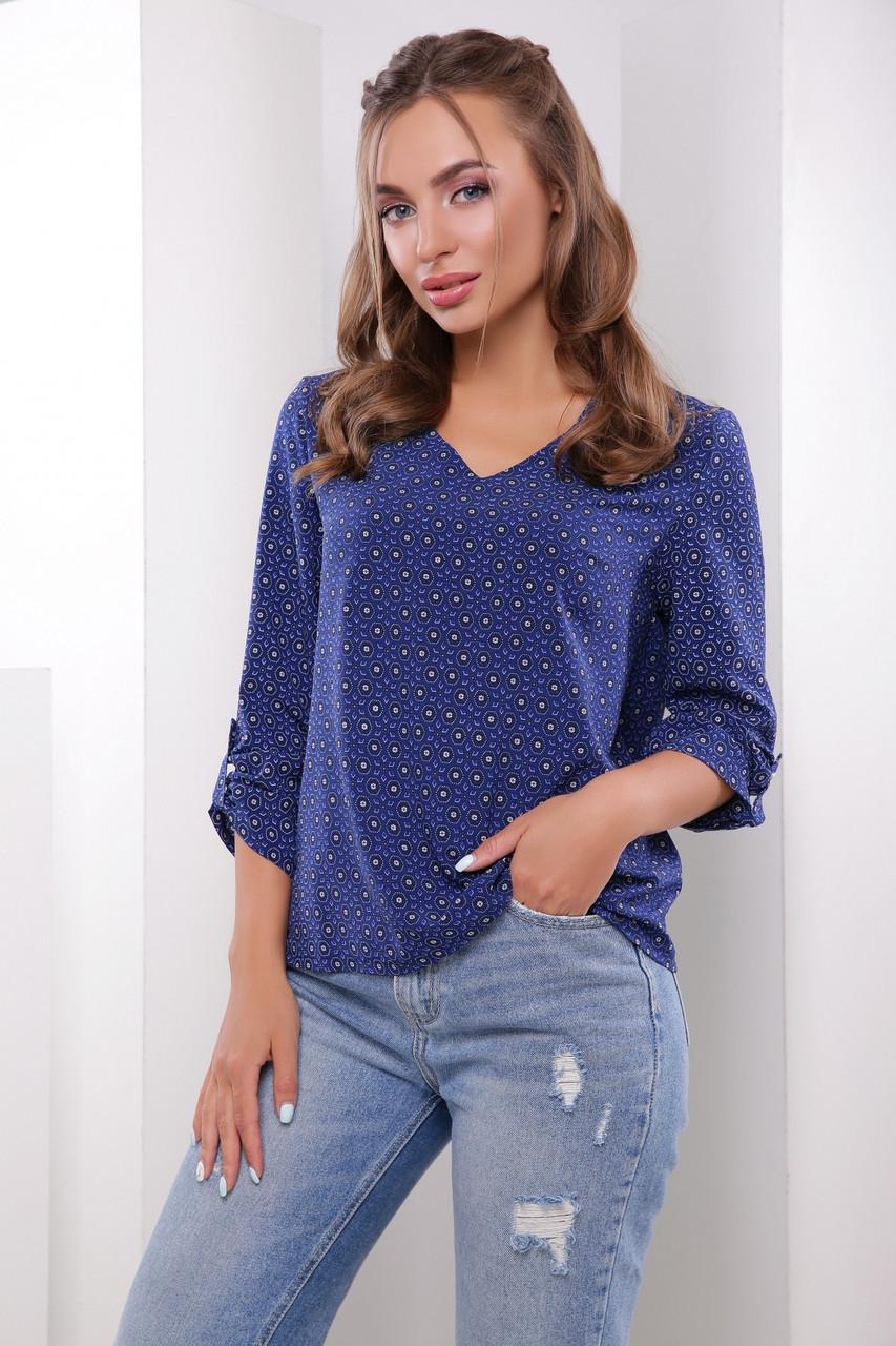 Удобная стильная блуза из софта