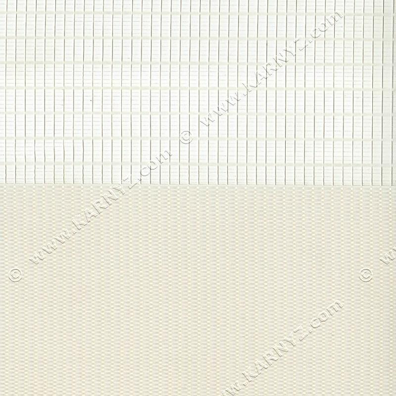 Рулонные шторы День-Ночь Феерия Z-003 кремовый айвори