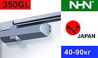 Доводчик рейковий слайдовий для дверей NHN-350 GL (Японія)