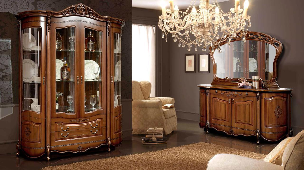 Набор мебели 2 для гостиной Аллегро СлонимМебель Орех