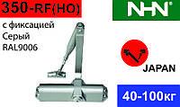 Доводчик для дверей з фіксацією NHN-350 Сірий (Японія). Аналог Dorma TS68.