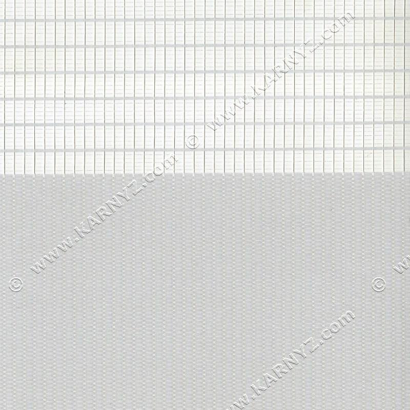 Рулонные шторы День-Ночь Феерия Z-009 серый светлый