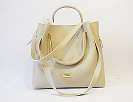 Светло-серая сумка Voila 575453