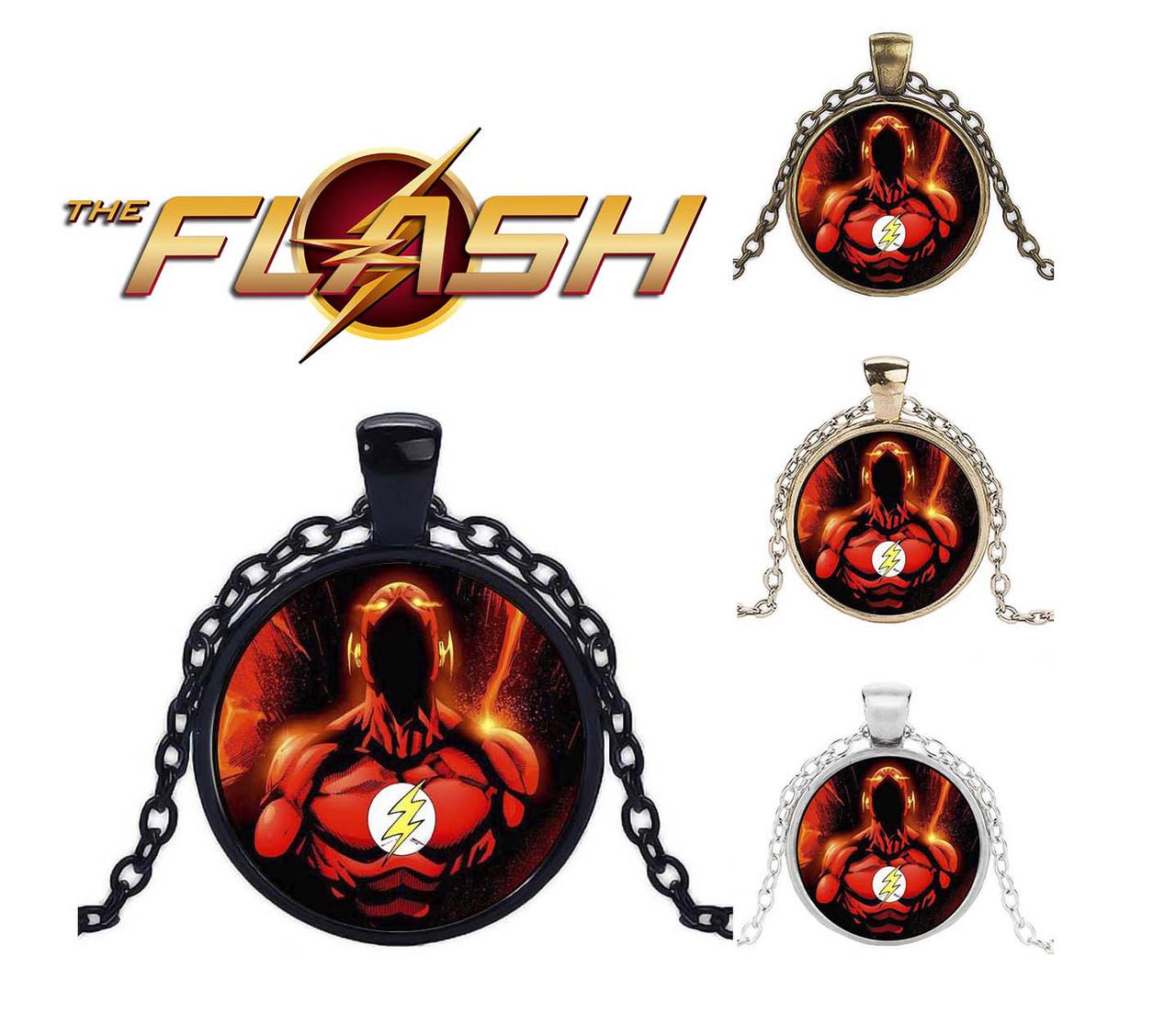 Кулон Flash Флэш красный