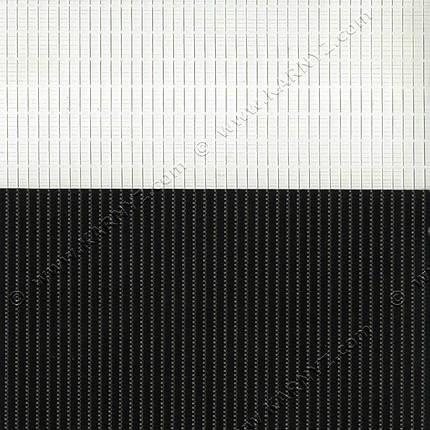 Рулонные шторы День-Ночь Феерия Z-013 черный, фото 2