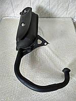 Глушитель Yamaha Jog (длинное колено) Mototech