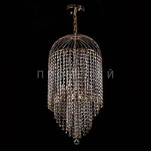 Кришталева люстра на ланцюгу класична на 5 лампочок P5-E1464/5/