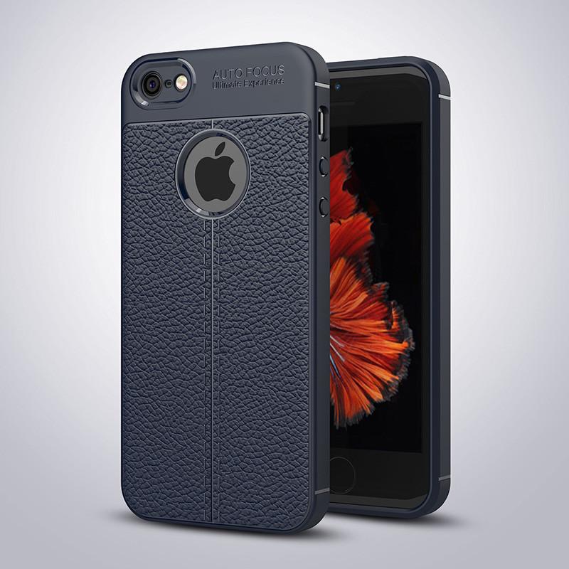 Чехол Touch для Iphone 6 / 6s бампер оригинальный Auto focus Blue