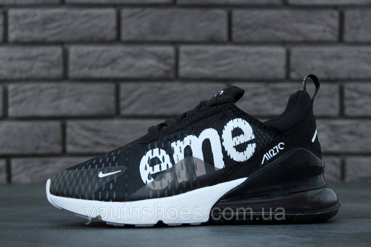 best loved 3a6c2 257c9 Кроссовки мужские Nike Air Max 270 Flyknit x Supreme