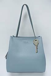 Женская сумка из экокожи Voila 700310 голубой