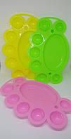 Палитра для смешивания красок, гель-лаков (7 ячеек)