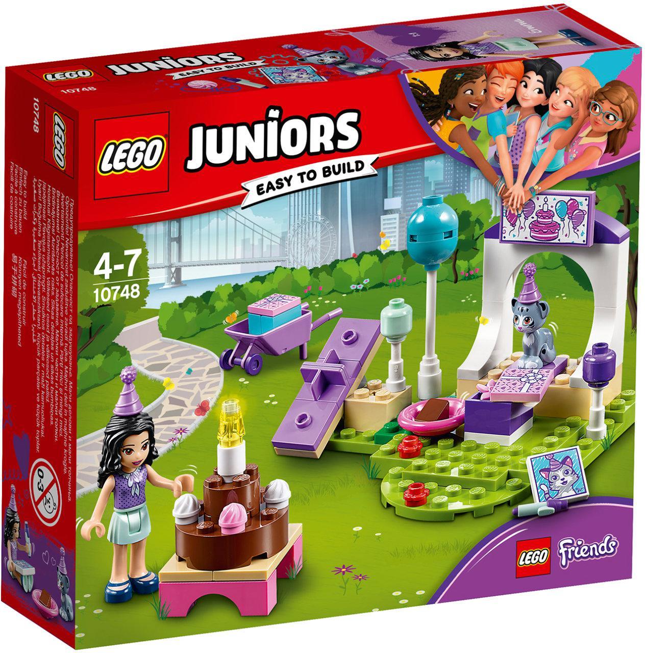 Lego Juniors Вечеринка Эммы для питомцев 10748