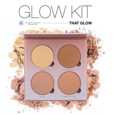 Палитра хайлайтеров Anastasia Beverly Hills Glow Kit That Glow