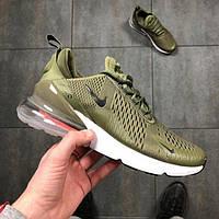 """Кроссовки мужские Nike Air Max 270 Olive """"Оливковые"""" хаки найк аир макс р.40-45, фото 1"""