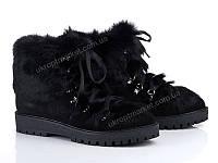 "Ботинки женские  ""Allshoes""(131347) 8 пар р.36-40 (2P/RZ-000)"