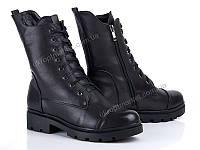 "Ботинки женские  ""Allshoes""(131426) 6 пар р.36-40 (2P/RZ-000)"