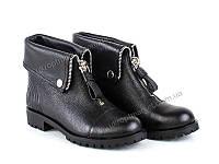 "Ботинки женские  ""Allshoes""(130870) 8 пар р.36-41 (2P/RZ-000)"