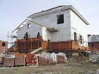 Строительные работы здание
