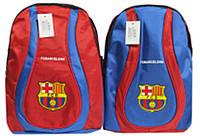 "Рюкзак спортивний 386-BR ""Barselona"" тканинний 43х27х15см уп6"