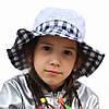 Летняя шляпка панамка для девочки.Лола.