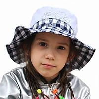 Річна капелюшок панамка для дівчинки.Лола.