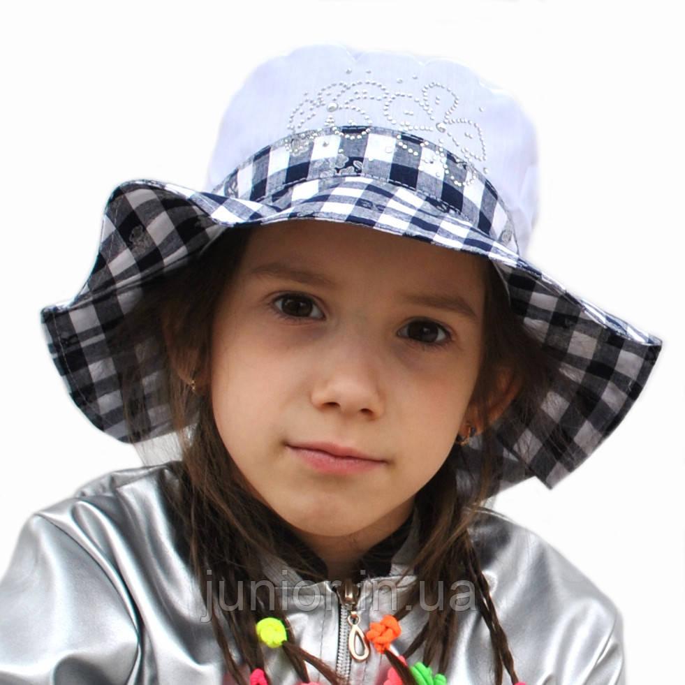Летняя шляпка панамка для девочки.Лола.  продажа 2d9c5771ec3d0