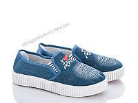 "Слипоны женские  ""Class Shoes""(B5) 6 пар р.36-40 (2P/NS-4114)"