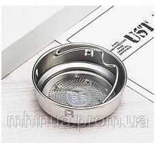 Термос 450мл 6 Cup Six Cup з ситечком білий, фото 2