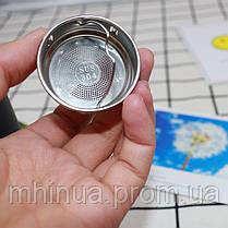 Термос 450мл 6 Cup Six Cup с ситечком белый, фото 2