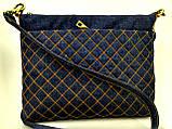 Женская стеганная сумочка Город пастель 3, фото 2
