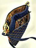 Женская стеганная сумочка Город пастель 3, фото 3