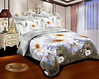Постельное бельё двуспальное 180*220 хлопок, TM KRISPOL Украина, Бесплатная доставка