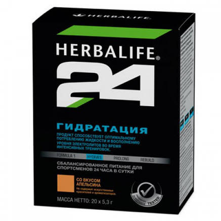 Гипотонический напиток Гидратация Herbalife 24, фото 2