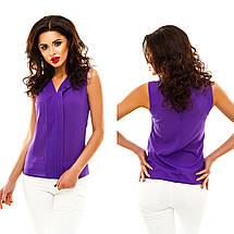 Однотонная блузка, фото 2
