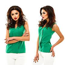 Однотонная блузка, фото 3