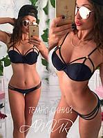 Купальник Ткань бифлекс Турция цвета -темно-синий, малина, минт, персик, черный, электрик сопт№170-250