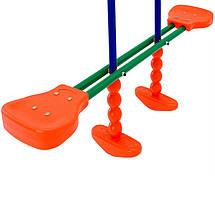 Детские качели 3 в 1 Play Ground , металлическая для дома и дачи, фото 2