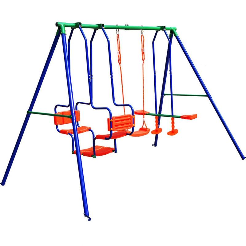 Детские качели 3 в 1 Play Ground , металлическая для дома и дачи