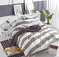 Комплект постельного белья двуспальный, 180*220, сатин TM KRISPOL, Бесплатная доставка