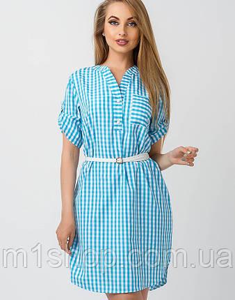 Женское летнее платье-рубашка (Рубик leo), фото 2