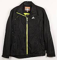 Ветровка куртка мужская в стиле Adidas D9158Y Black Размеры S XXL