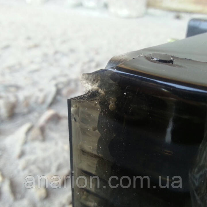 Задние диодные фонари на ВАЗ 2109  Освар-серый №2с малыми сколами.