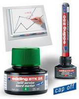 Чернила для маркеров для досок зеленые e-ВТК25