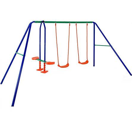 Детские качели 3 в 1 Play Ground 2, металлическая , фото 2