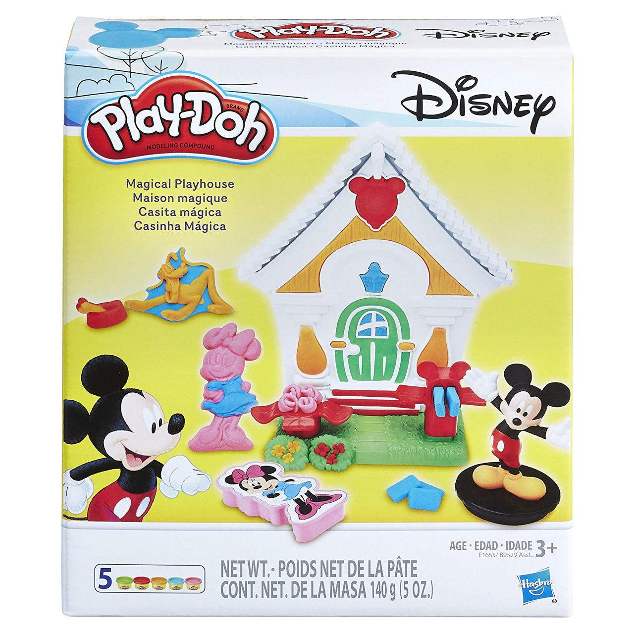 Play-Doh Микки маус Волшебный театр больница Disney Mickey Mouse Magical Playhouse