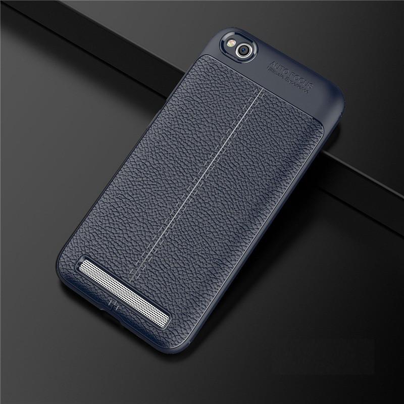Чехол Touch для Xiaomi Redmi 5A бампер оригинальный Auto focus Blue