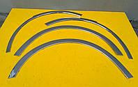 Накладки на колесные арки на Renault Trafic Opel Vivaro