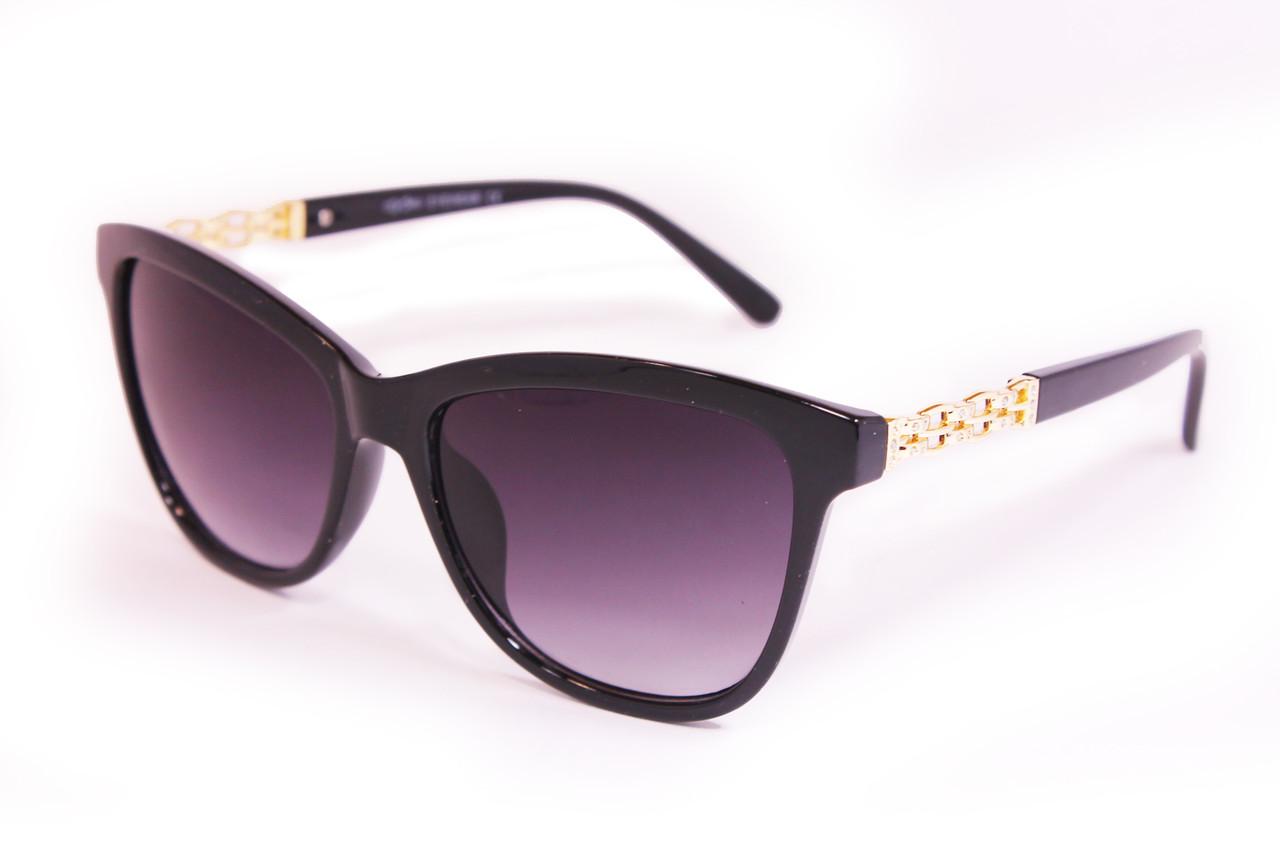 Солнцезащитные очки UV400 Черные (8103-2)